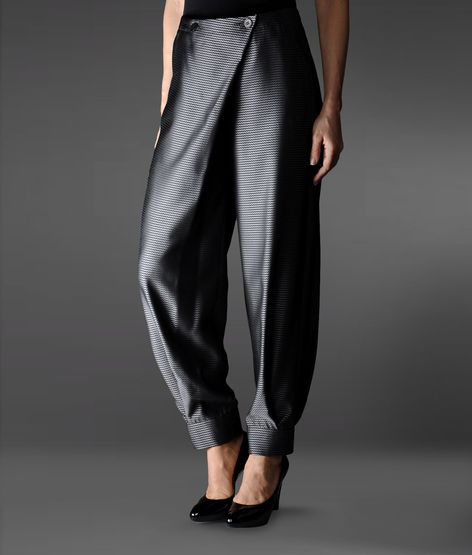 High-waist pant