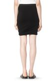 T by ALEXANDER WANG CLASSIC MICRO MODAL SPANDEX TWIST SKIRT Skirt Adult 8_n_a