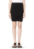 T by ALEXANDER WANG CLASSIC MICRO MODAL SPANDEX TWIST SKIRT Skirt Adult 8_n_d