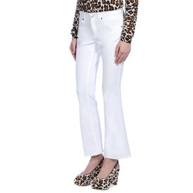 STELLA McCARTNEY, Bootcut, Skinny Kick White Jeans