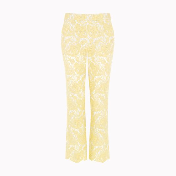 Stella McCartney, Pantalon Vandella en dentelle guipure 