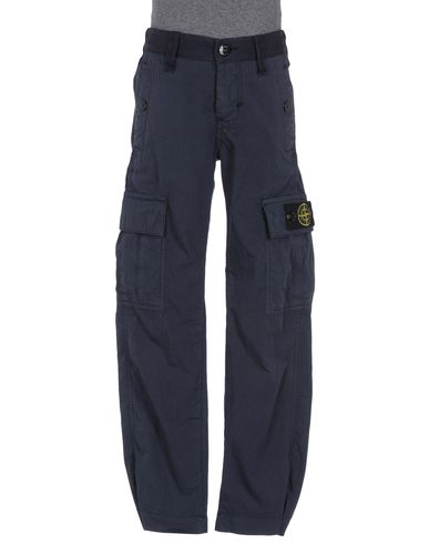 STONE ISLAND JUNIOR - Casual pants