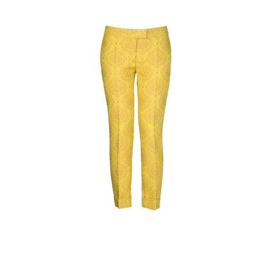Stella McCartney, Portland Trousers - Pantaloni in Jacquard Fluo 