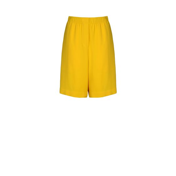Stella McCartney, Zitronenfarbene Shorts Clarence 