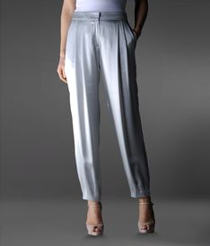 EMPORIO ARMANI - Trouser with tucks