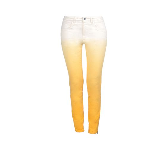 Stella McCartney, Jean skinny dgrad en tissu biologique