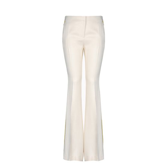 Stella McCartney, Elba Trousers - Pantaloni in Jacquard Citrus Fluo