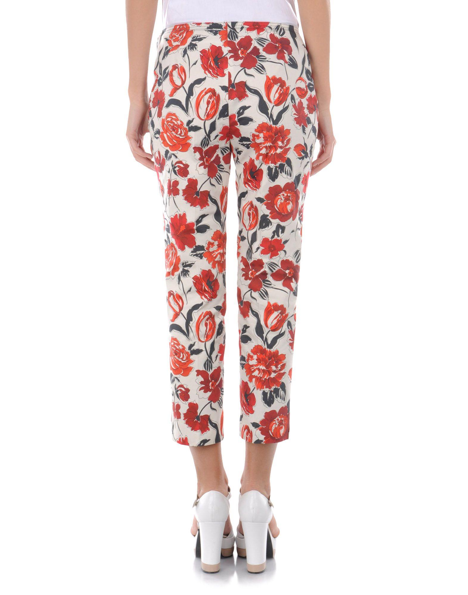 Cropped Pants - JIL SANDER NAVY Online Store