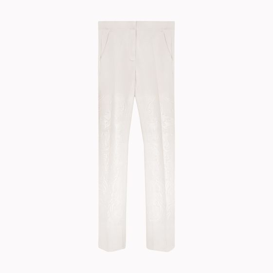 Stella McCartney,  Double Face Wool Stretch Gabel Trousers