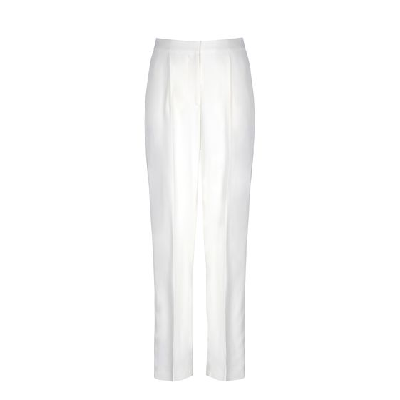 Stella McCartney, Trevor Trousers - Pantaloni Sartoriali in Voile