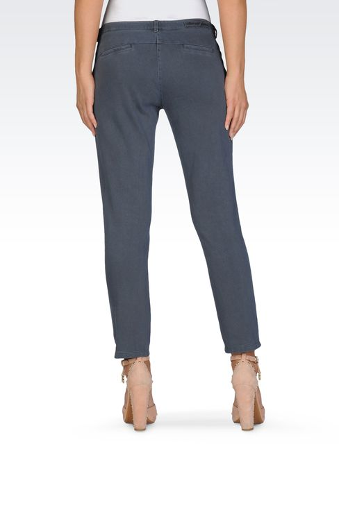 Pants: Low-rise pants Women by Armani - 2