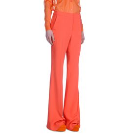 STELLA McCARTNEY, Tailored, Coral Fluid Tailoring Bedford Trouser