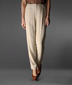 EMPORIO ARMANI - Pants with tucks