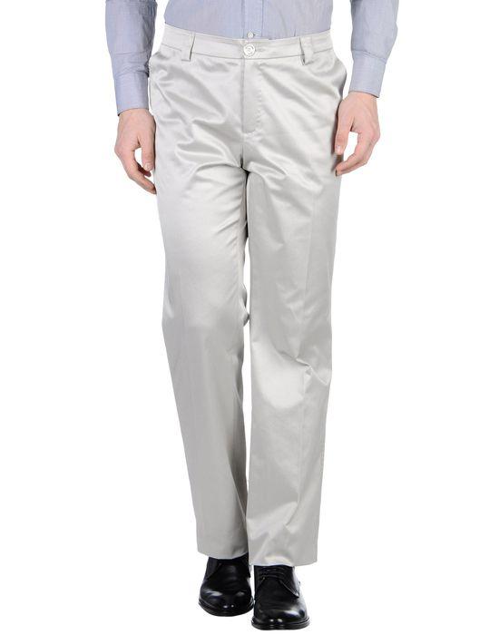 Классические брюки BURBERRY LONDON. Цвет: светло-серый