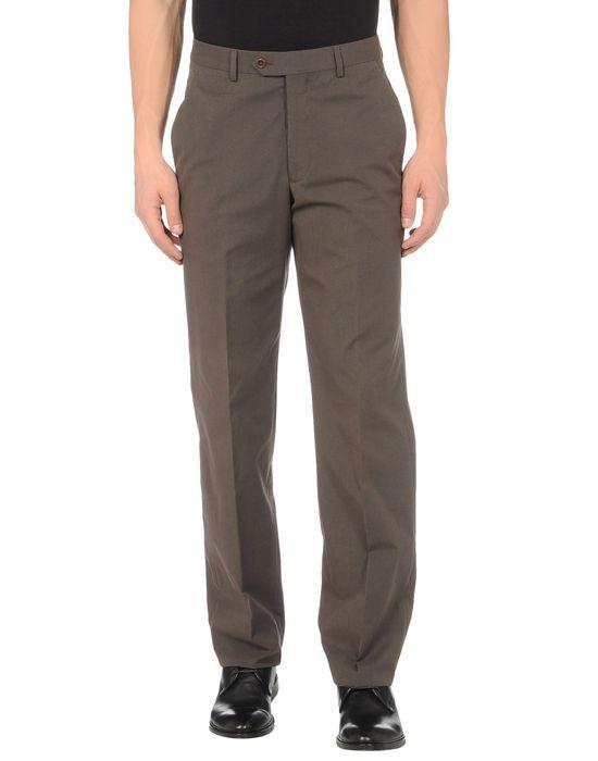 Классические брюки ARMANI COLLEZIONI. Цвет: темно-коричневый