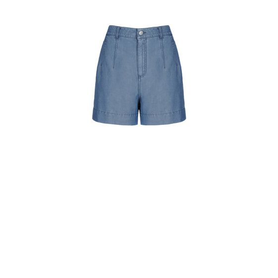 Stella McCartney, Oxford Chambray Kitt Shorts