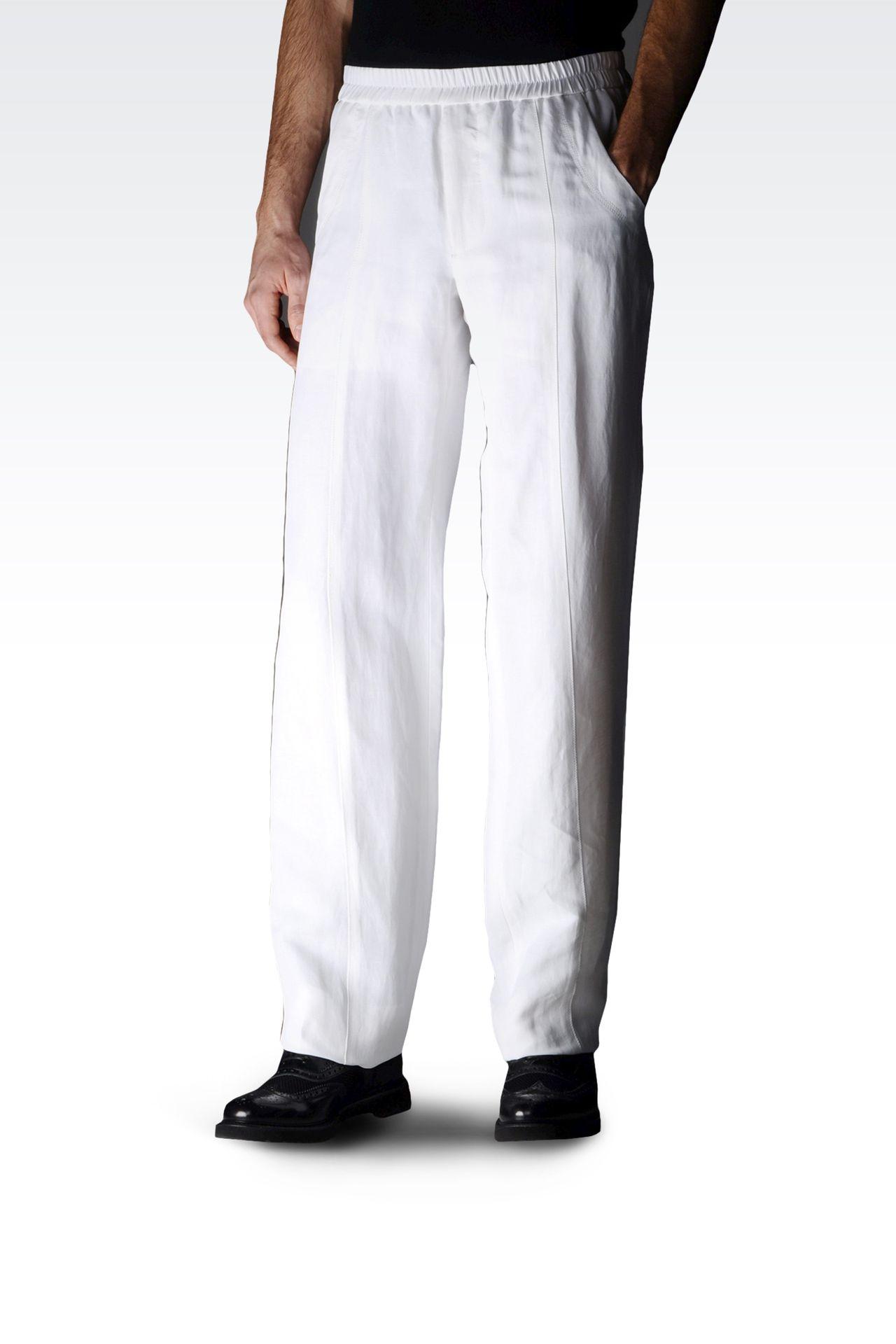 阔腿裤 | armani