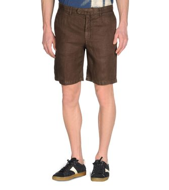ZEGNA SPORT: Shorts Dark brown - 36417916UP