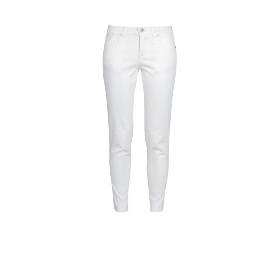 Stella McCartney, Frayed Skinny Ankle Grazer Jeans 