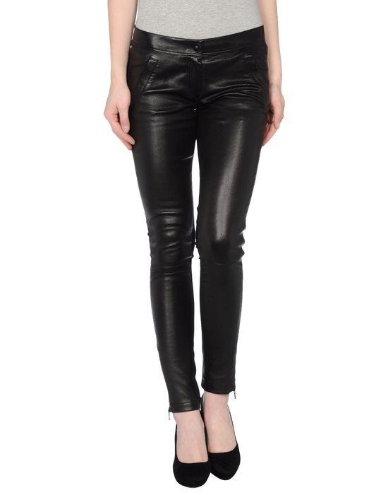 D&G Кожаные брюки Скидки в YOOX.COM  по цене 18000.00 RUB