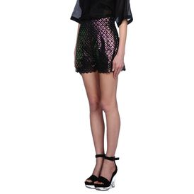STELLA McCARTNEY, Shorts, Cutwork Embroidery Berna Shorts