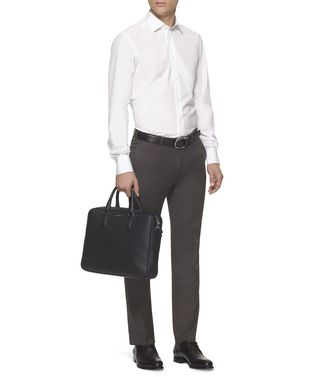 ERMENEGILDO ZEGNA: Pantalón Formal Gris marengo - 36432717TO
