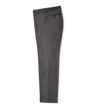 ERMENEGILDO ZEGNA: Formal trouser Dark brown - 36432717TO