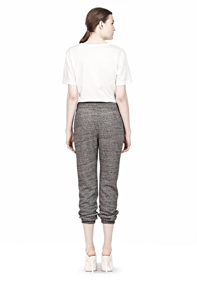 T by ALEXANDER WANG  FRENCH TERRY SWEATPANTS PANTS Adult 12_n_r
