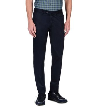 ZEGNA SPORT: Casual trouser Steel grey - 36441959OC