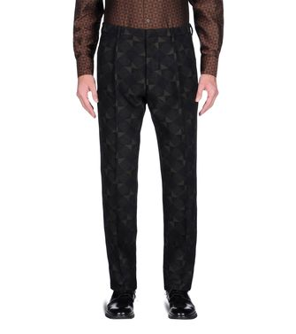 ZZEGNA: Formal trouser Dark brown - 36441970UL