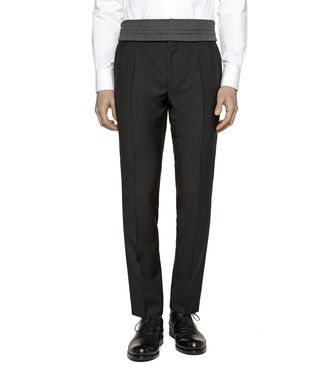 ERMENEGILDO ZEGNA: Dress pants Blue - Grey - Maroon - Ivory - 36441971SM
