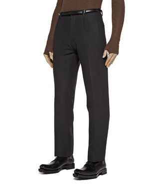 ZZEGNA: Dress pants Dark brown - 36441972BK