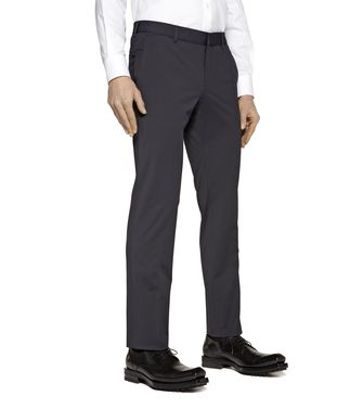 ZZEGNA: Pantalón formal Azul - 36441979CT