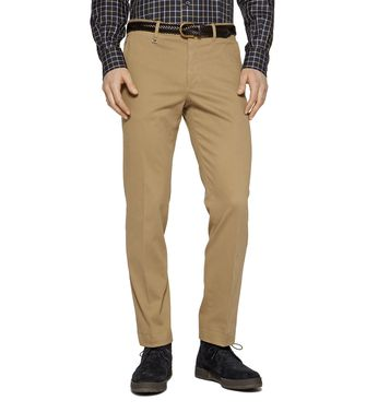 ERMENEGILDO ZEGNA: 5-pockets Pants Blue - 36442107OU