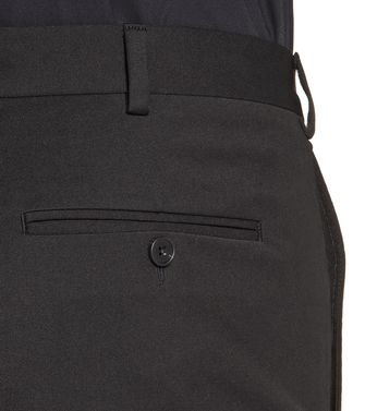 ZZEGNA: Pantalón formal Negro - 36443450NB