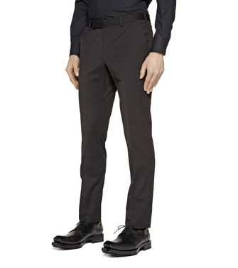 ZZEGNA: Dress pants Dark brown - 36443450NB