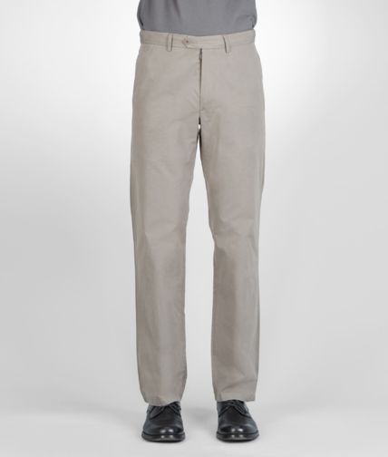 BOTTEGA VENETA - Washed Light Cotton Pant