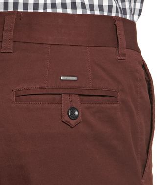 ZEGNA SPORT: 5-pockets Trousers Maroon - 36447977DH