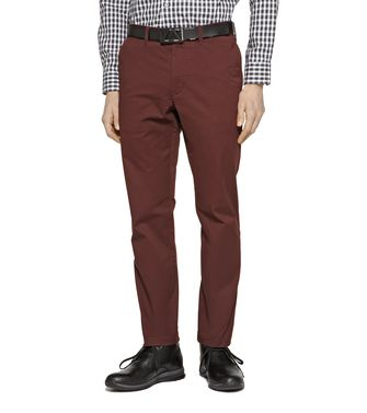 ZEGNA SPORT: 5-pockets Trousers Blue - Grey - Maroon - 36447977DH