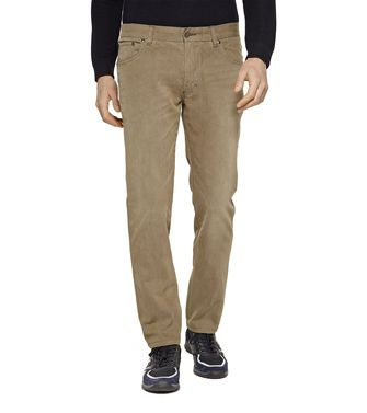 ZEGNA SPORT: 5-pockets Trousers Grey - 36448079KF