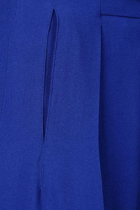 PALAZZO PANTS IN CRÊPE: Pants with tucks Women by Armani - 4