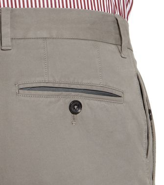 ERMENEGILDO ZEGNA: Casual trouser Steel grey - 36450486CG