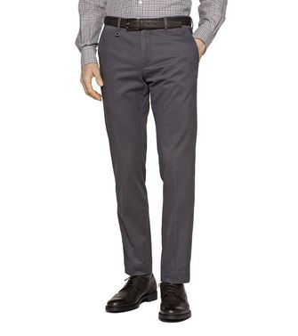 ERMENEGILDO ZEGNA: Casual trouser Dark brown - 36450486NP