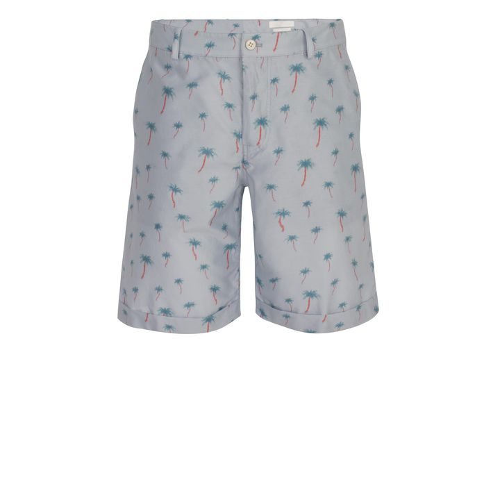 Alexander McQueen, Mini Palm Print Shorts