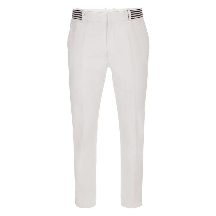 Alexander McQueen, Gabardine Stripe Band Trousers