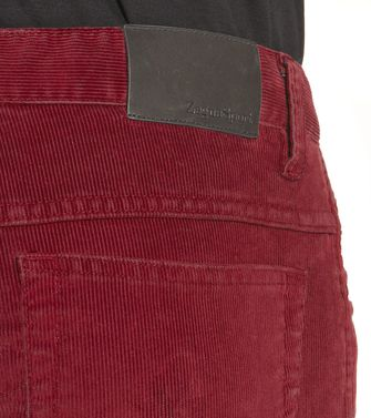 ZEGNA SPORT: 5-pockets Pants Blue - 36451101MI