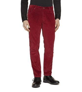 ZEGNA SPORT: 5-pockets Pants Blue - Grey - Maroon - Ivory - 36451101MI
