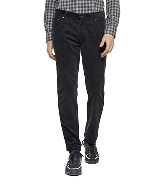 ZEGNA SPORT: 5-pockets Trousers Black - 36451101OF