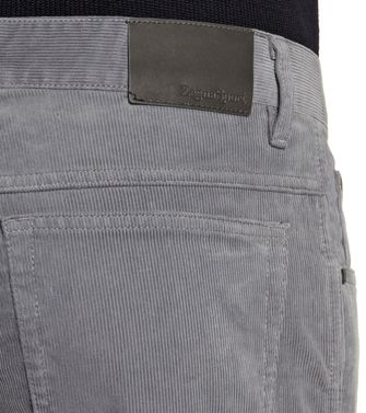 ZEGNA SPORT: 5-pockets Trousers Blue - Grey - Maroon - 36451101QS