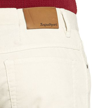 ZEGNA SPORT: 5-pockets Trousers Blue - Grey - Maroon - Ivory - 36451101TN